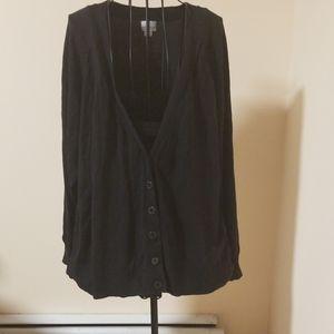 Worthington black cardigan size 2X
